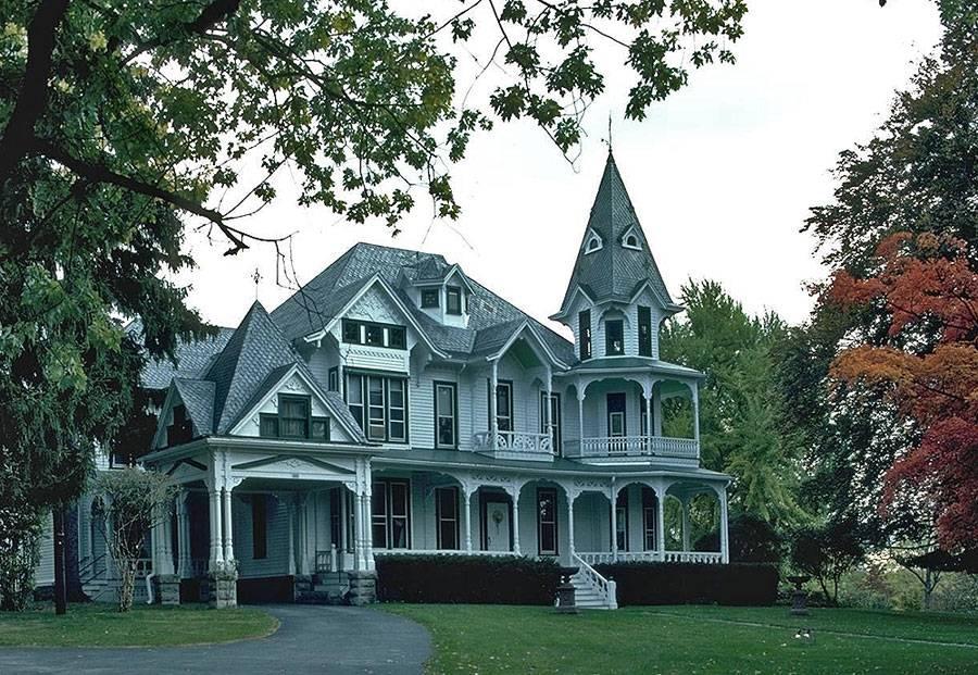Дом ванглийском стиле— классика, изысканность икрасота на33 фото