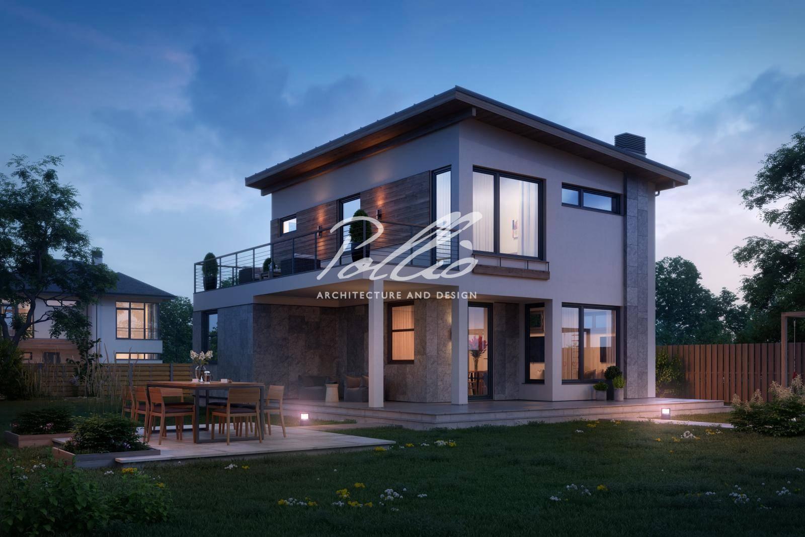 Особенности каркасных домов со вторым светом