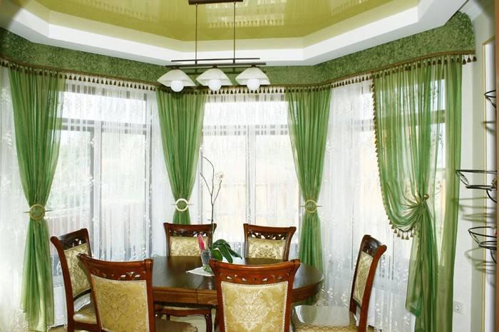 Бамбуковые шторы: 106 фото современных идей использования штор