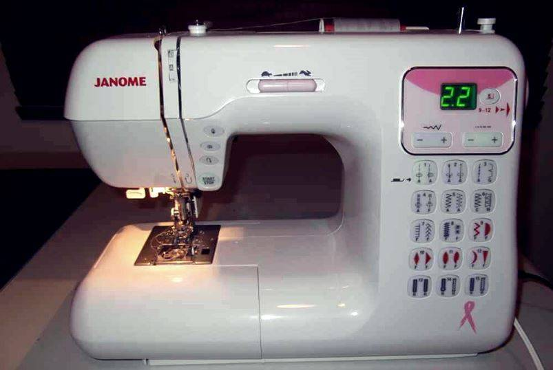 Топ-6 швейных машин janome
