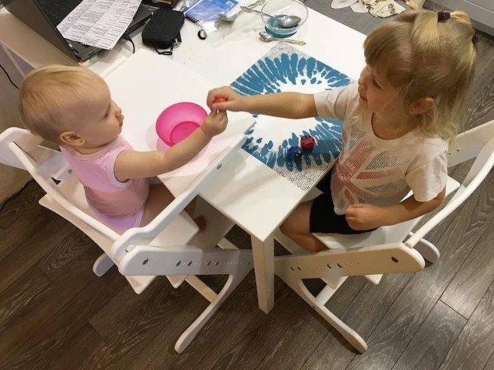 Растущий стул для ребенка: вместе со столом, брендов stokke, kidfix, «конек горбунок»
