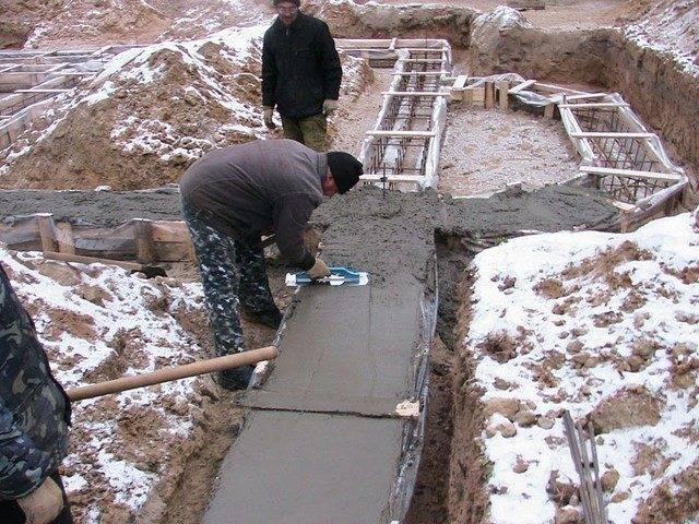 Прогрев бетона: технология, тепляк, добавки, температура.