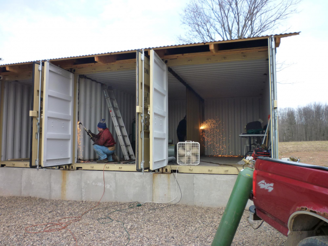 Как сделать дом из контейнеров: особенности технологии и отзывы владельцев
