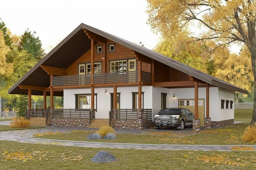 Комбинированный дом: суть, особенности и достоинства