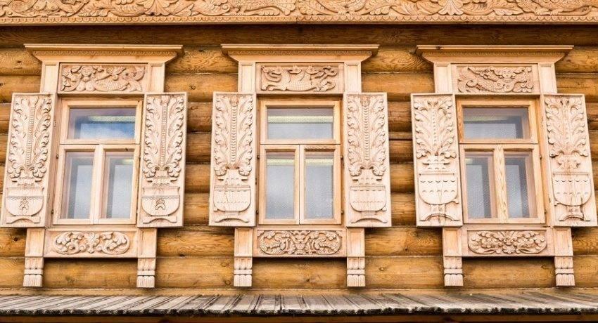 Наличники на окна в деревянном доме (46 фото): красивые резные наличники, как сделать внутри своими руками