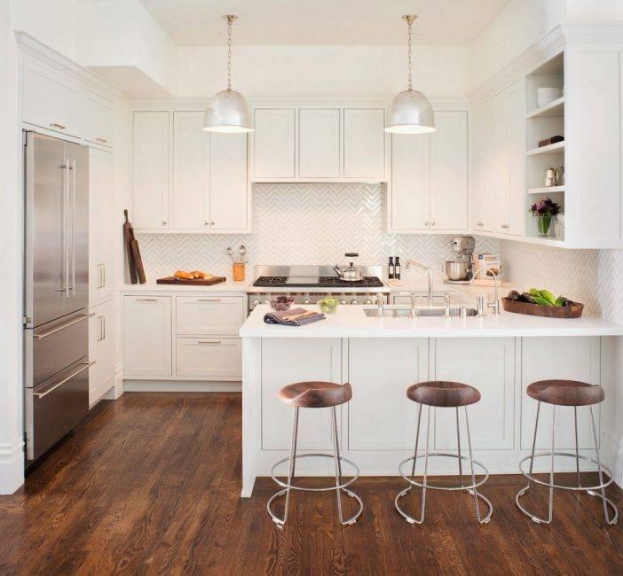 Маленькая кухня-гостиная: фото в интерьере, планировки и дизайн