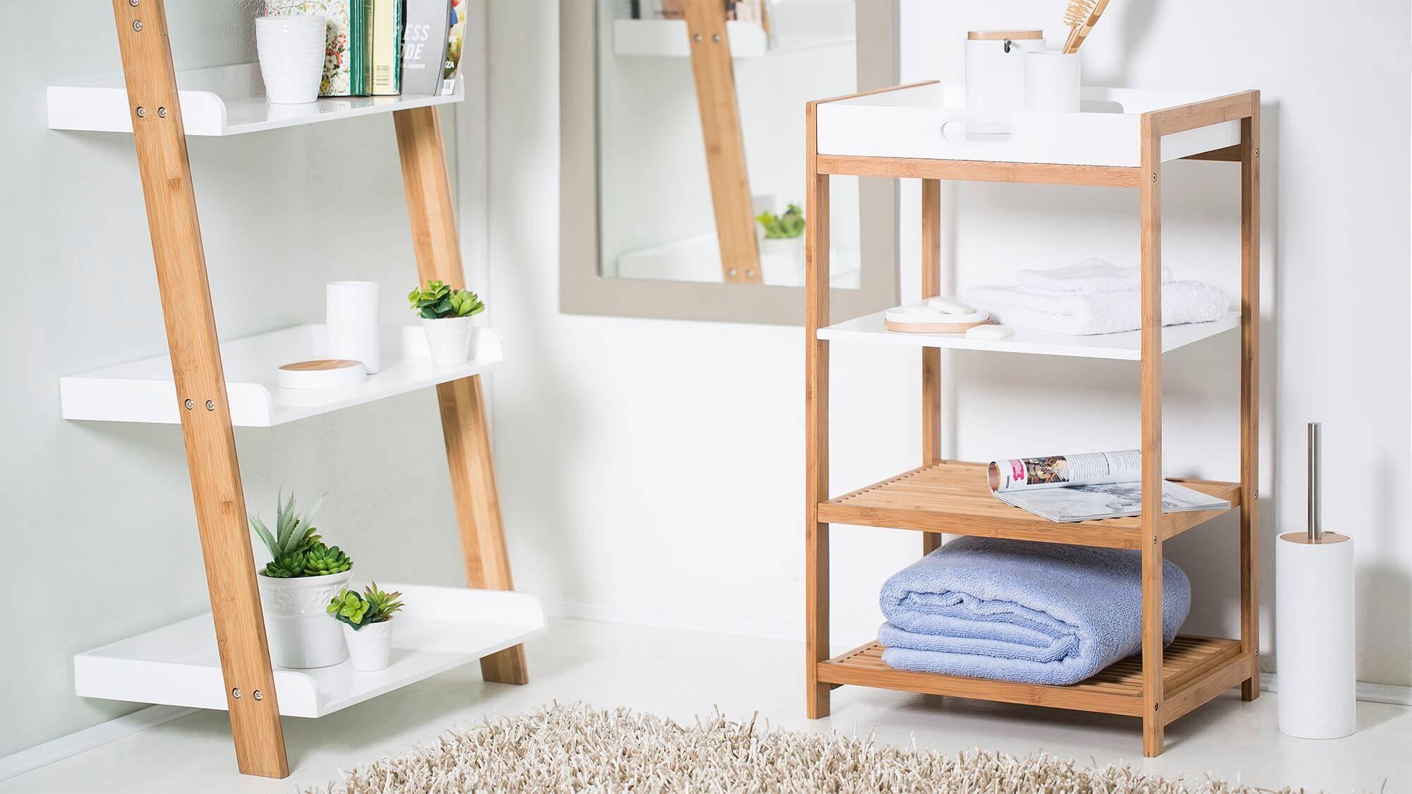 Полка для ванной – стильные и оригинальные модели для современных интерьеров (145 фото)