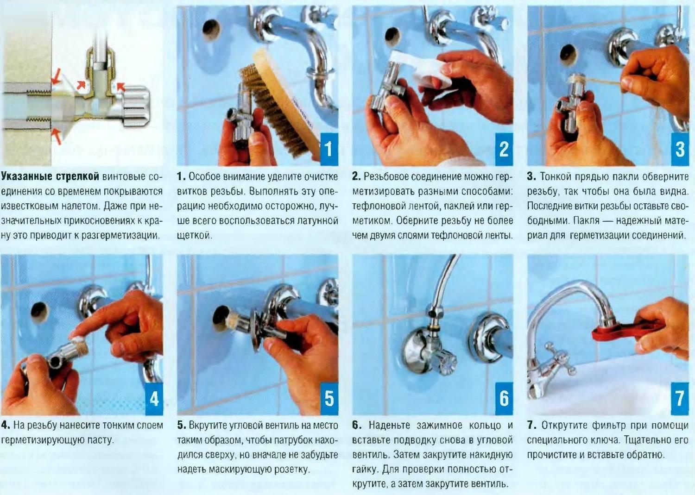 Капает вода из крана: как починить различные типы смесителей?