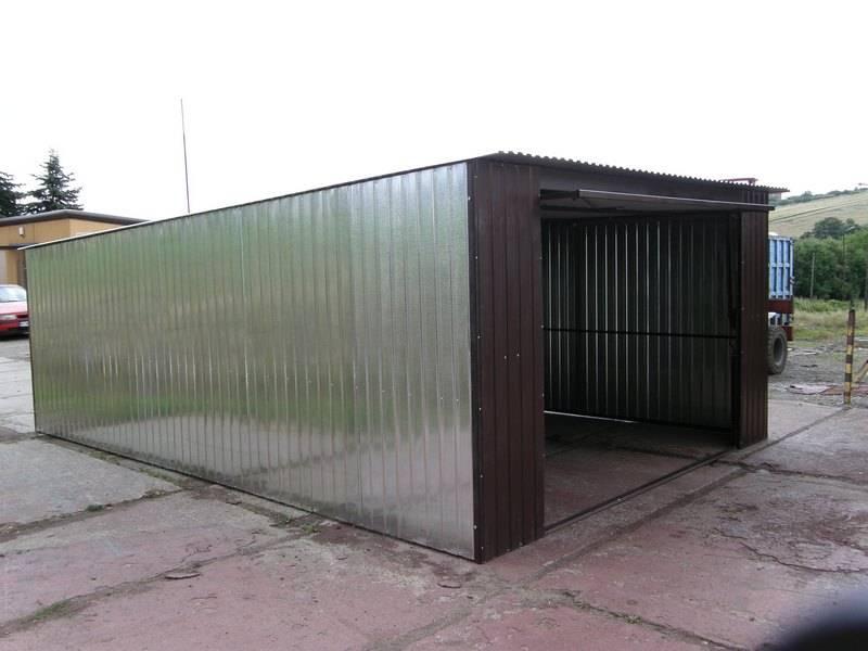 Сборные и монолитные гаражи из железобетона