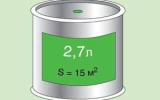 Как правильно рассчитать расход краски на 1 м2 от чего он зависит - самстрой - строительство, дизайн, архитектура.