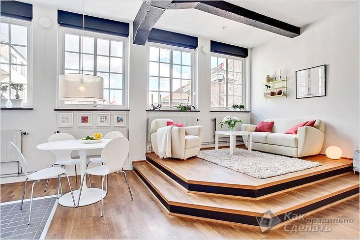 Подиум с выдвигающейся кроватью – просто и уютно, а главное – функционально! как сделать такой подиум своими руками