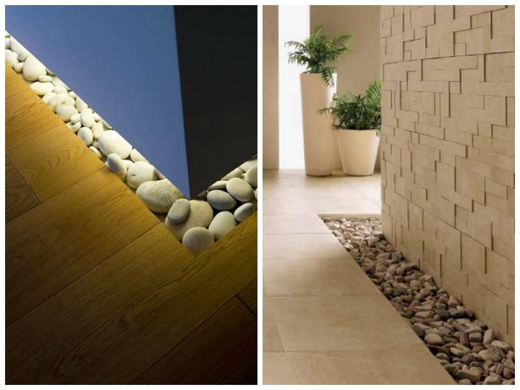 Время собирать камни: как использовать гальку в интерьере