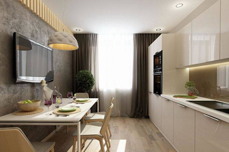 Кухня площадью 15 кв.м: 50 фото вариантов дизайна