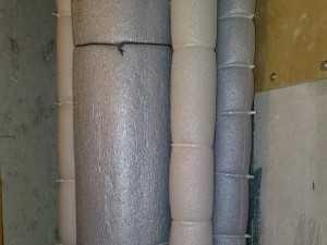 Утеплитель для труб (89 фото): теплоизоляция отопления и водоснабжения, жидкая трубная продукция 22/6, варианты диаметром 32 мм