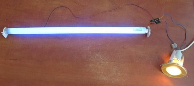 Дроссель для ламп дневного света – схема подключения