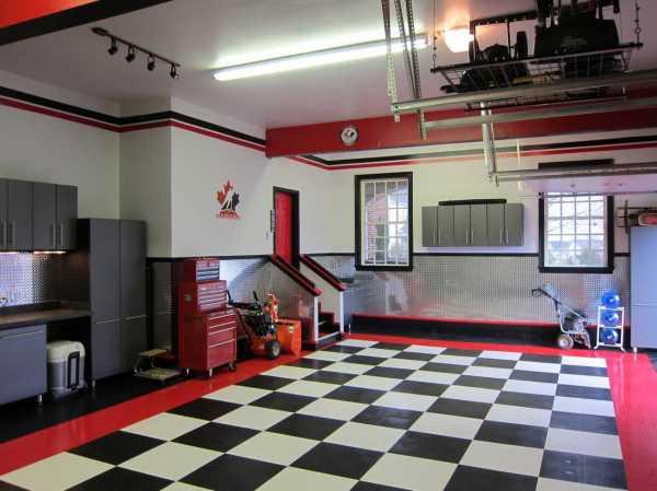 Дизайн гаража и гаражного интерьера: проект гаража не только красивый и аккуратный внутри, но и удобный | гаражтек