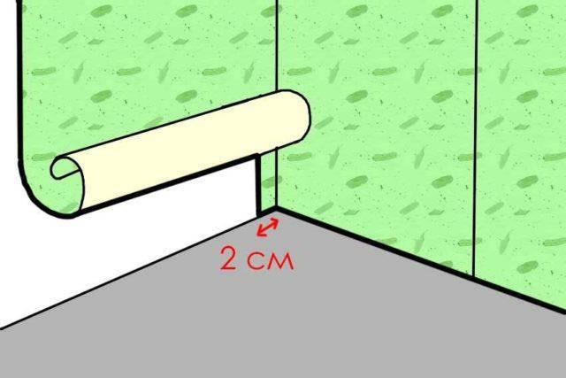 Как клеить обои в углах комнаты и подгонять рисунок