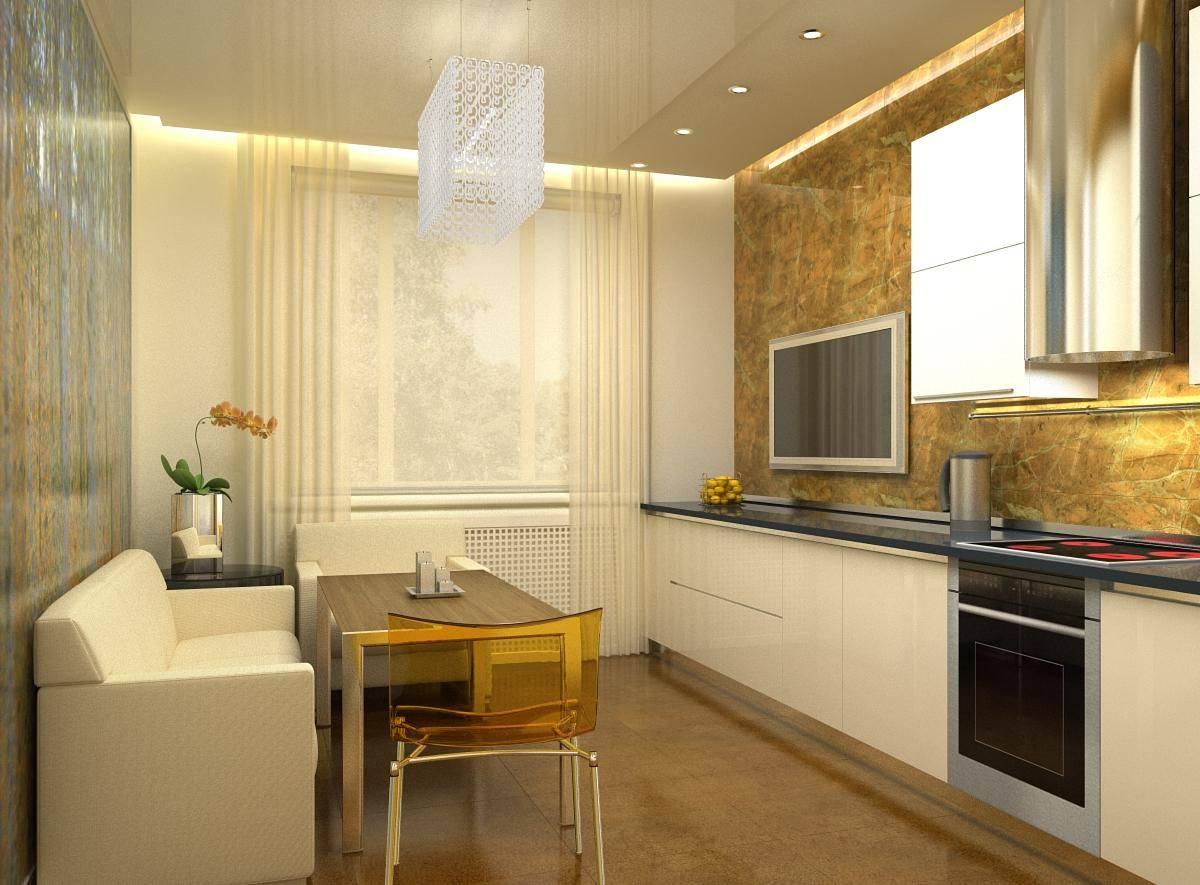 Кухня-гостиная 14 кв. м (46 фото): дизайн и планировка помещения с диваном размером 14 квадратных метров