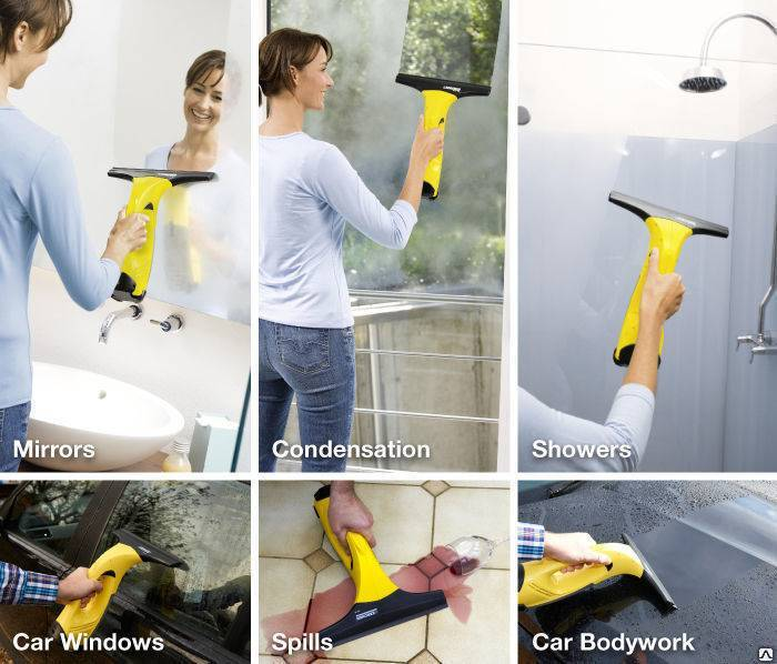 Как мыть окна керхером и его принцип работы