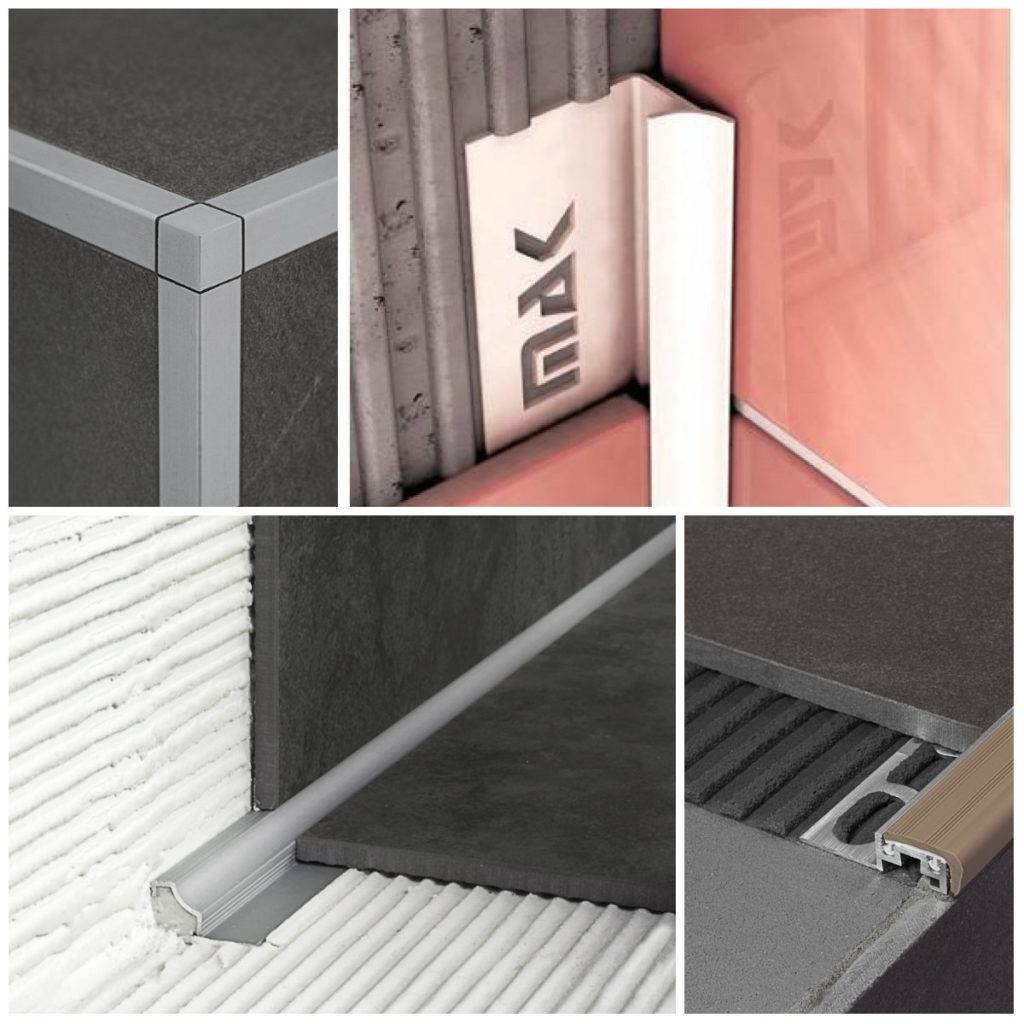 Внутренний уголок для плитки (56 фото): пластиковый угол и металлический профиль, их размеры и раскладка