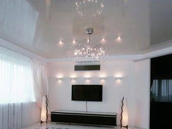 Текстурный натяжной потолок: 60+ фото, современные идеи фактурного дизайна