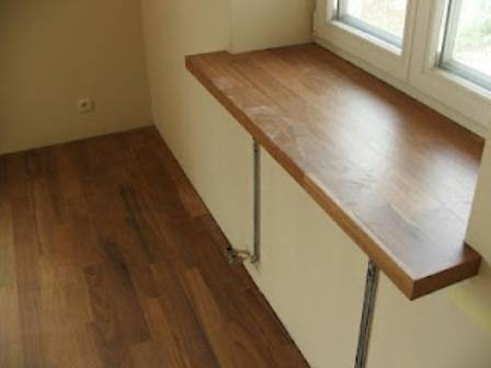 Чем хорош стол-подоконник?