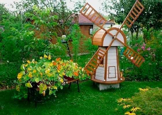 Мельница своими руками — лучшие идеи и инструкции по постройке декоративных мельниц в саду и на участке (105 фото)