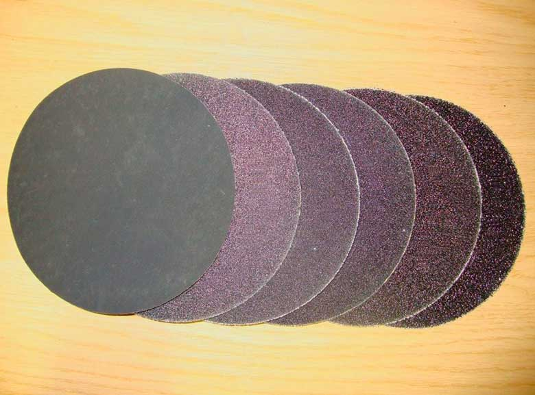 Шлифовальная шкурка - наждачная или абразивная бумага: виды классификация + фото