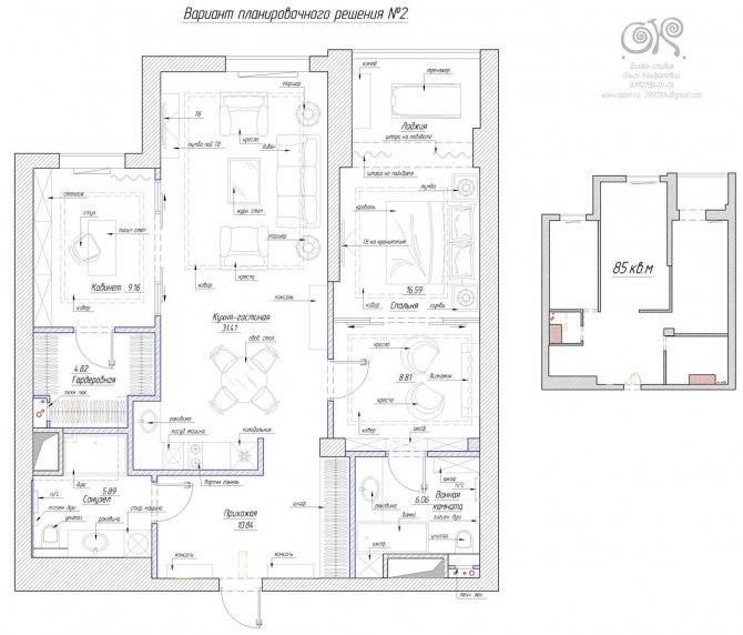 Планы четырехкомнатных квартир: планировка квартиры в панельном доме 9 этажей, в «хрущевке» и в 5 этажном кирпичном доме