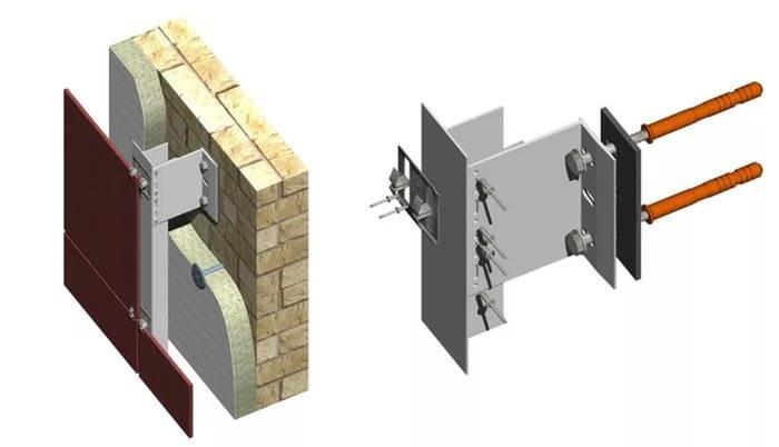 Вентилируемый фасад из керамогранита — и пусть ваш дом вздохнет полной грудью | mastera-fasada.ru | все про отделку фасада дома