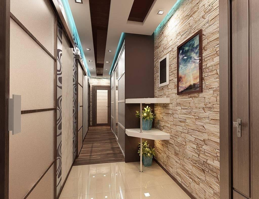 Обои в коридор (96 фото): модные идеи-2021  дизайна прихожей в квартире в темных и цветных тонах, какие выбрать цвета в «хрущевку»