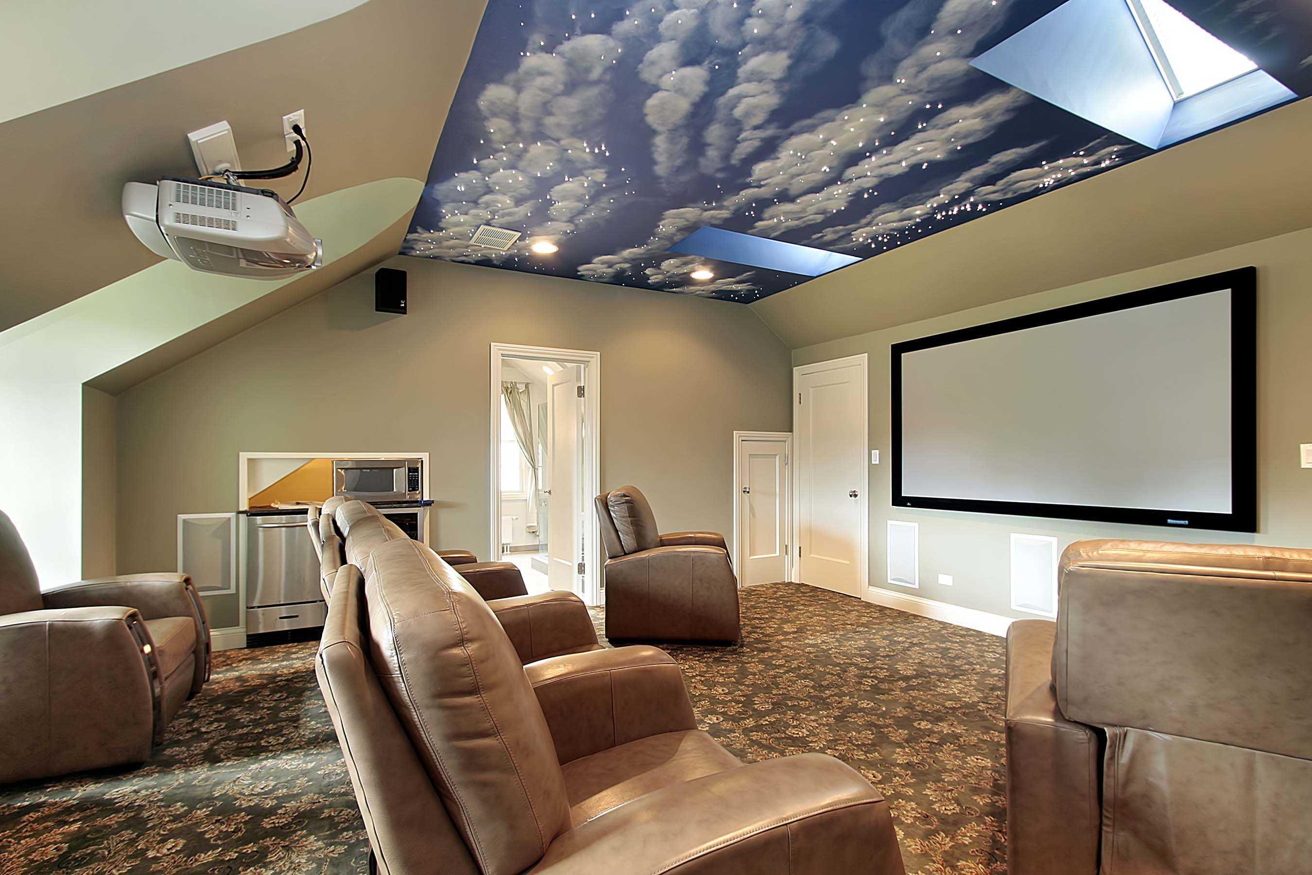 Как сделать звездное небо на потолке - всё о ремонте потолка
