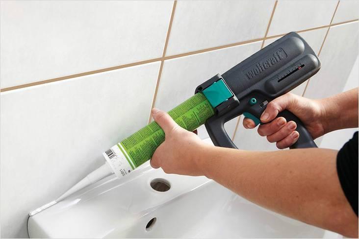 Как пользоваться пистолетом для герметика - инструкция по применению