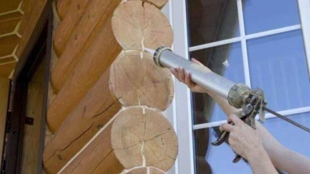 Теплый шов для деревянного дома – инструкция к выполнению, видео, отзывы и цены. формирование теплых швов при утеплении деревянного дома теплый шов для деревянного дома технология нанесения