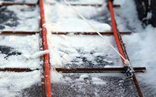 Особенности заливки фундамента зимой: способы прогрева бетона
