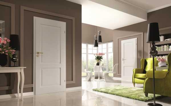 Цвет дверей в интерьере: подобрать под пол или стены?