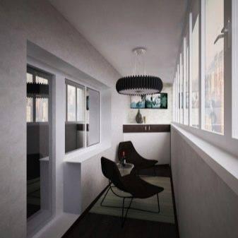 В каком стиле оформить интерьер балкона и лоджии