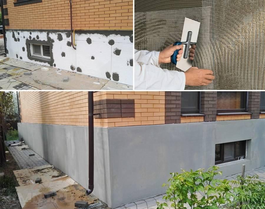 Как выполнить отделку цоколя частного дома своими руками?