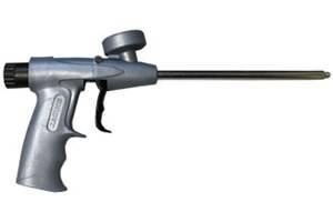 Как пользоваться пистолетом для монтажной пены - какой лучше выбрать, виды, как разобрать, почистить и отремонтировать + видео