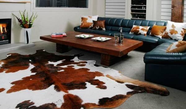 Мех в интерьере - необычные и стильные дизайнерские решения