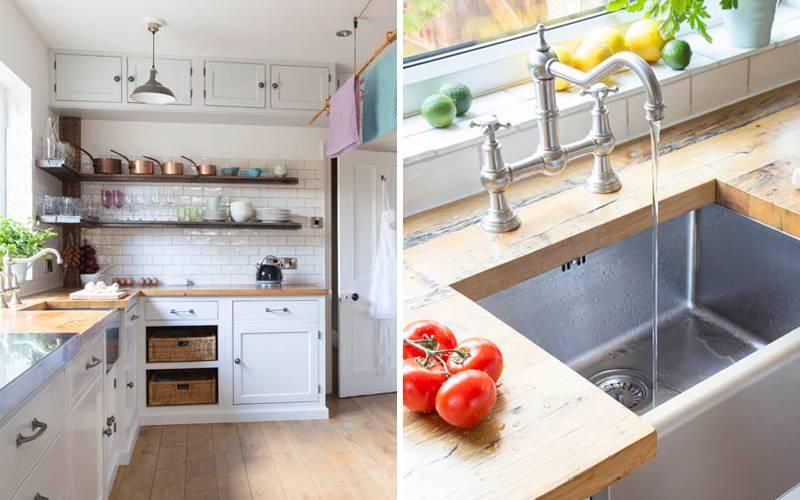 Угловые кухни с мойкой в углу: варианты дизайна, фото проектов, плюсы и минусы
