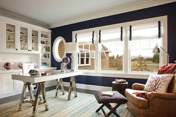Гид по выбору римских штор для окна на кухне