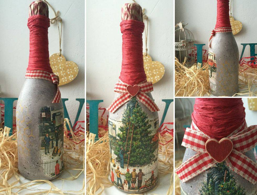 Как украсить шампанское на новый год: новогоднее шампанское своими руками, оригинальные идеи оформления и декора