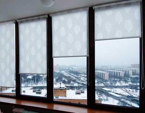 Рулонные шторы без сверления: возможности конструкции (22 фото)