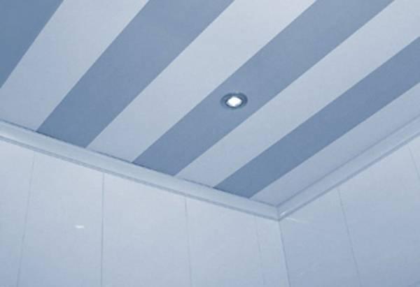 Способы крепления и приклеивания пвх панелей на потолок