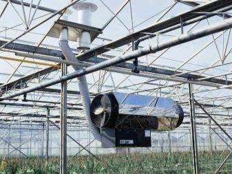 Организация инфракрасного отопления теплицы в холодном климате