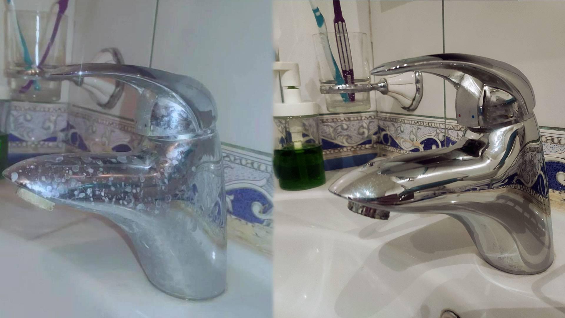 Как убрать известковый налет с различных поверхностей в домашних условиях?