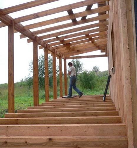 Веранда своими руками – пошаговая инструкция и советы экспертов как изготовить пристройку к дому (105 фото)