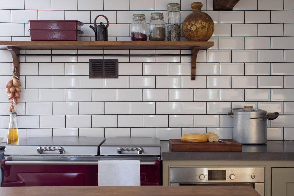 Плитка под кирпич для кухни: как правильно использовать керамическую, клинкерную, кафельную и гипсовую декоративную плитку, имитирующую кирпичную кладку?