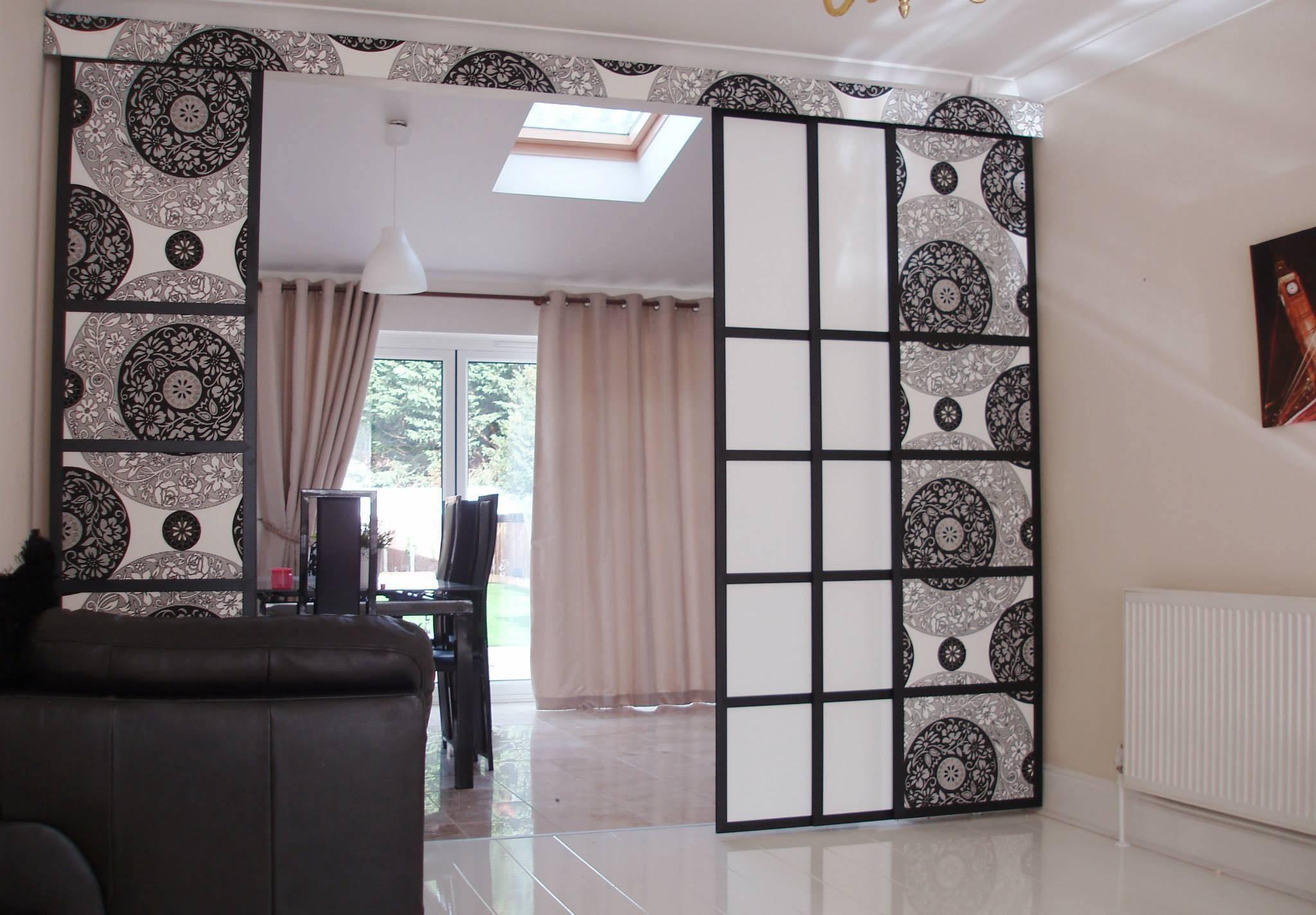 Японские шторы: фото в интерьере, виды, преимущества использования, советы по оформлению комнат